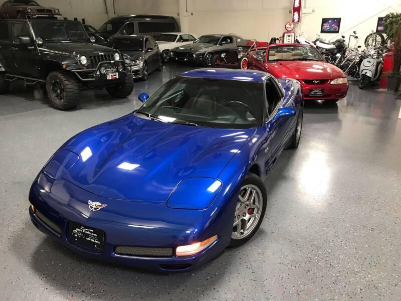2003 Chevrolet Corvette for sale at Luxury Auto Finder in Batavia IL