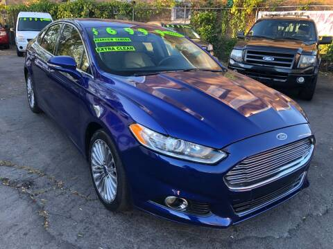2015 Ford Fusion for sale at James Motor Cars in Hartford CT