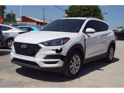 2019 Hyundai Tucson for sale at Credit Connection Sales in Fort Worth TX