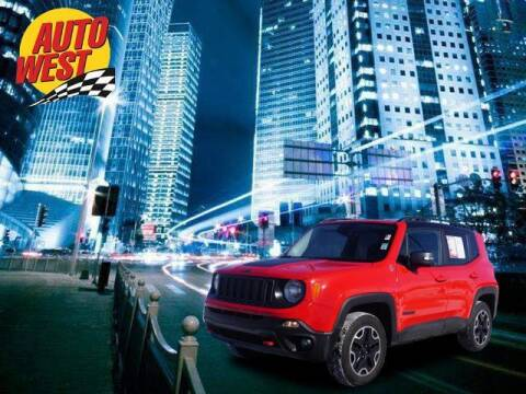 2017 Jeep Renegade for sale at Autowest of Plainwell in Plainwell MI