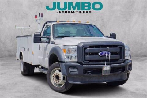 2016 Ford F-450 Super Duty for sale at Jumbo Auto & Truck Plaza in Hollywood FL