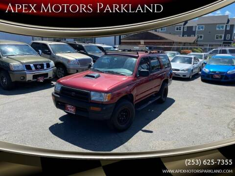 1998 Toyota 4Runner for sale at Apex Motors Parkland in Tacoma WA
