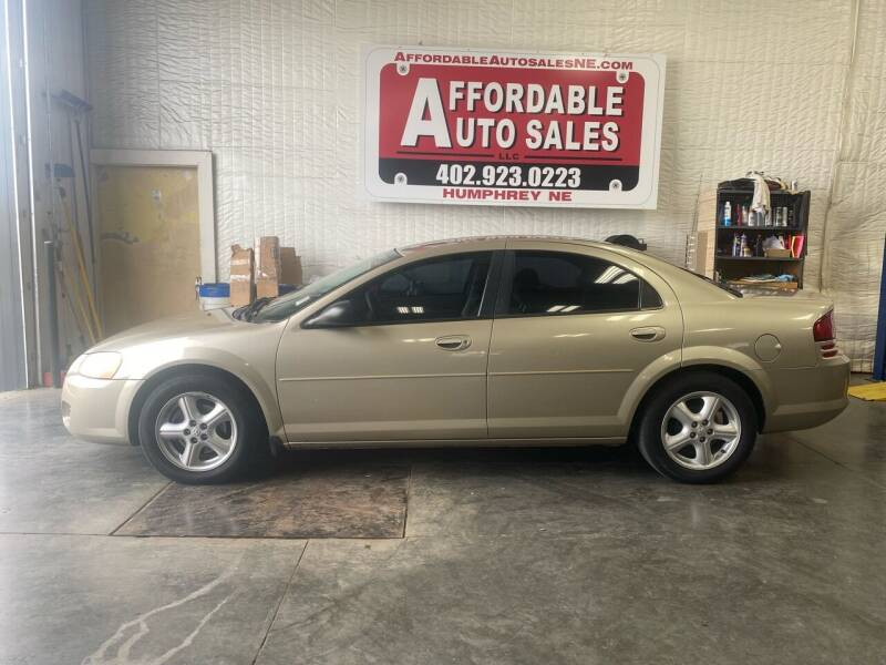 2005 Dodge Stratus for sale at Affordable Auto Sales in Humphrey NE
