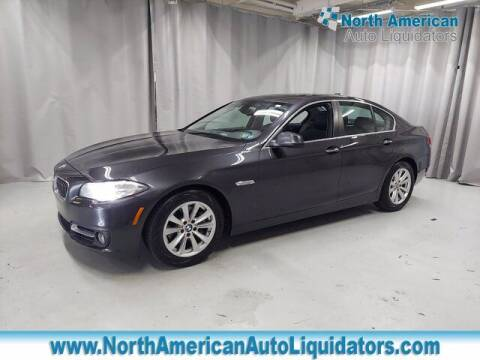 2015 BMW 5 Series for sale at North American Auto Liquidators in Essington PA