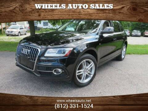 2014 Audi Q5 for sale at Wheels Auto Sales in Bloomington IN