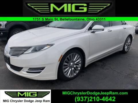 2014 Lincoln MKZ for sale at MIG Chrysler Dodge Jeep Ram in Bellefontaine OH