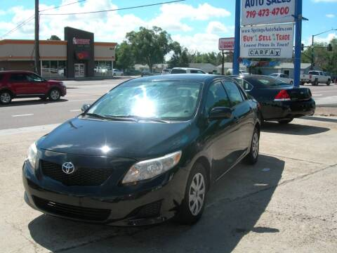 2009 Toyota Corolla for sale at Springs Auto Sales in Colorado Springs CO