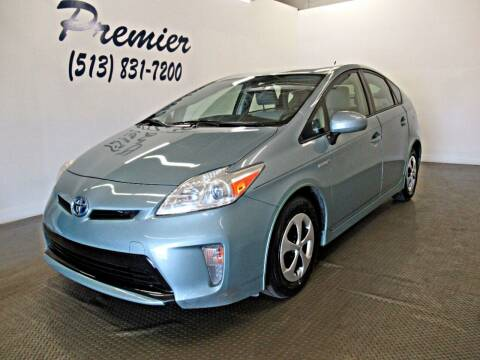 2013 Toyota Prius for sale at Premier Automotive Group in Milford OH
