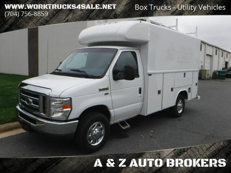 2012 Ford E-Series Chassis for sale at A & Z AUTO BROKERS in Charlotte NC