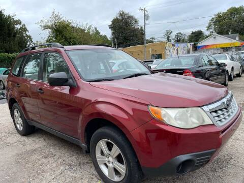 2012 Subaru Forester for sale at Quality Motors of Germantown in Philadelphia PA