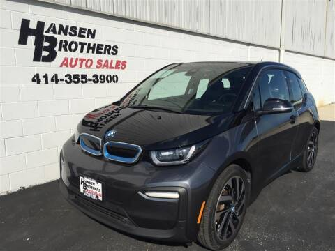 2018 BMW i3 for sale at HANSEN BROTHERS AUTO SALES in Milwaukee WI