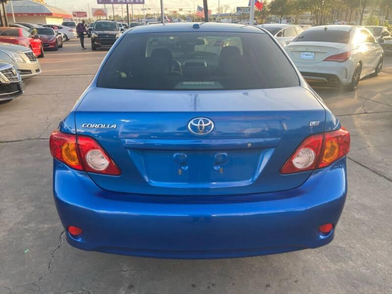 2010 Toyota Corolla LE 4dr Sedan 4A - Houston TX