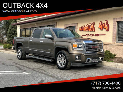 2015 GMC Sierra 1500 for sale at OUTBACK 4X4 in Ephrata PA