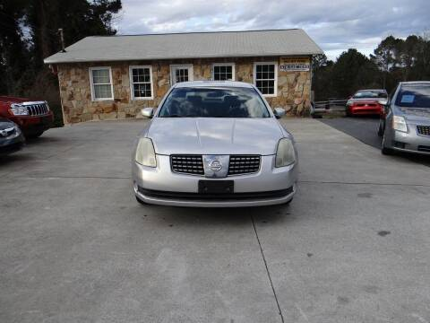 2004 Nissan Maxima for sale at Flywheel Auto Sales Inc in Woodstock GA