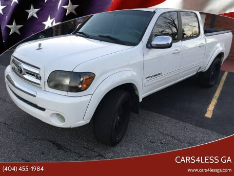 2006 Toyota Tundra for sale at Cars4Less GA in Alpharetta GA