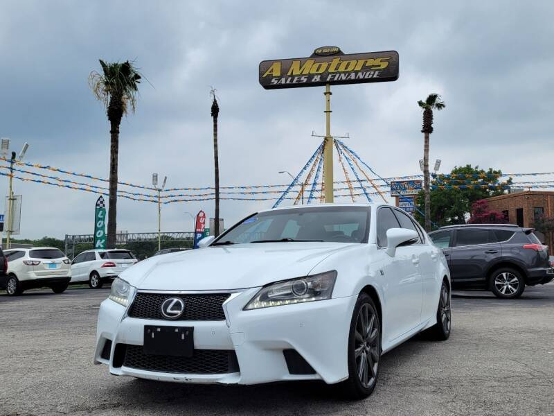 2014 Lexus GS 350 for sale at A MOTORS SALES AND FINANCE in San Antonio TX