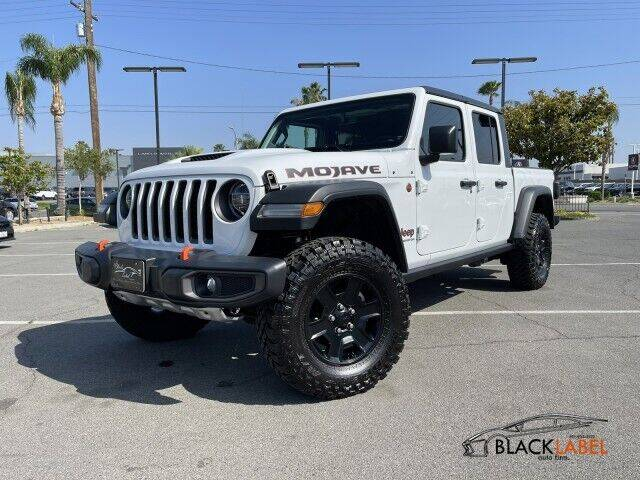 2020 Jeep Gladiator for sale at BLACK LABEL AUTO FIRM in Riverside CA