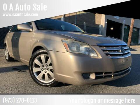 2005 Toyota Avalon for sale at O A Auto Sale - O & A Auto Sale in Paterson NJ