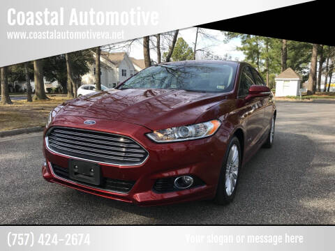 2014 Ford Fusion Hybrid for sale at Coastal Automotive in Virginia Beach VA