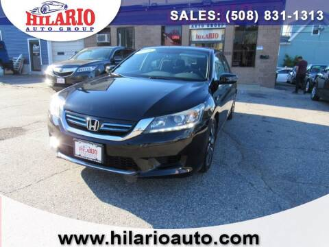 2015 Honda Accord Hybrid for sale at Hilario's Auto Sales in Worcester MA