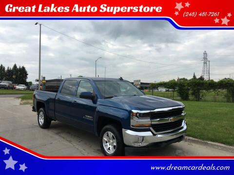 2017 Chevrolet Silverado 1500 for sale at Great Lakes Auto Superstore in Pontiac MI