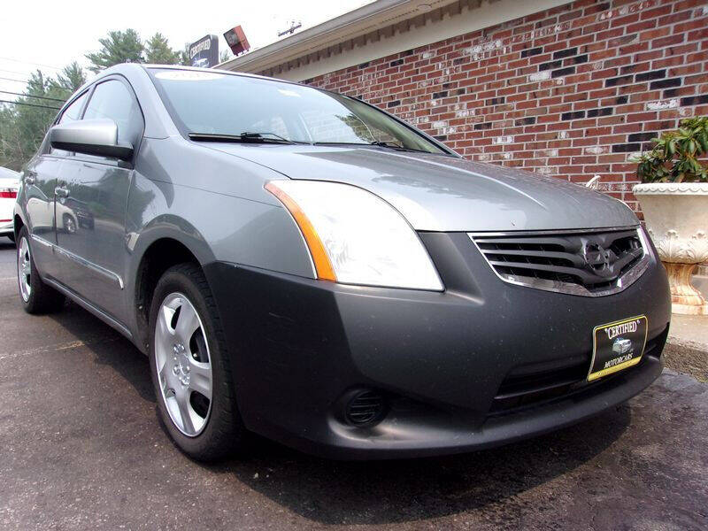 2012 Nissan Sentra for sale at Certified Motorcars LLC in Franklin NH