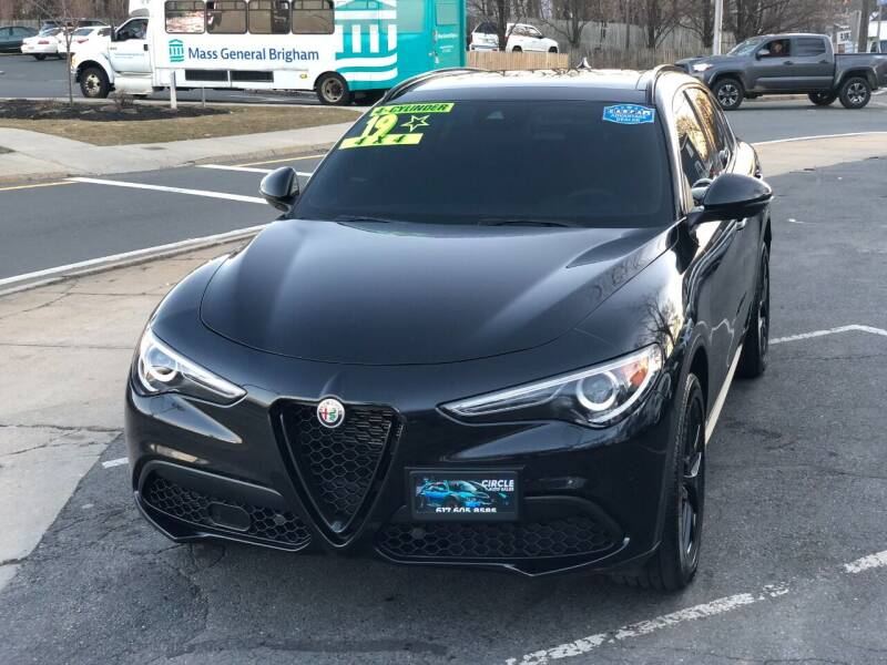 2019 Alfa Romeo Stelvio for sale at Circle Auto Sales in Revere MA