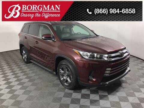 2018 Toyota Highlander for sale at BORGMAN OF HOLLAND LLC in Holland MI