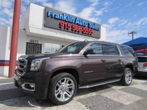 2015 GMC Yukon XL for sale at Franklin Auto Sales in El Paso TX
