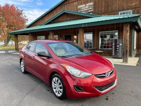2013 Hyundai Elantra for sale at Coeur Auto Sales in Hayden ID