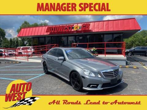 2011 Mercedes-Benz E-Class for sale at Autowest of GR in Grand Rapids MI