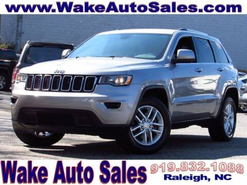 2017 Jeep Grand Cherokee for sale at Wake Auto Sales Inc in Raleigh NC