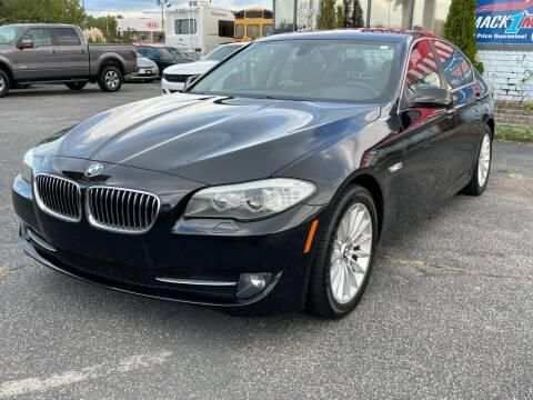 2013 BMW 5 Series for sale at Mack 1 Motors in Fredericksburg VA