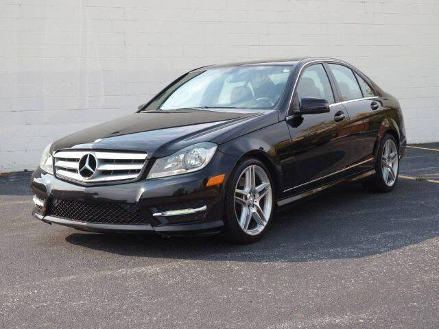 2013 Mercedes-Benz C-Class for sale at O T AUTO SALES in Chicago Heights IL