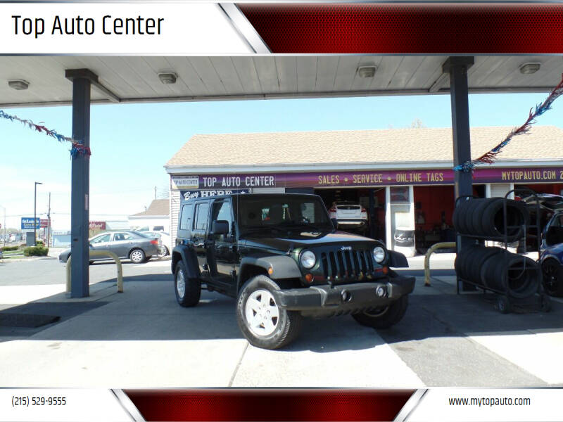 2010 Jeep Wrangler Unlimited for sale at Top Auto Center in Quakertown PA