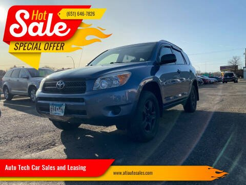 2007 Toyota RAV4 for sale at Auto Tech Car Sales in Saint Paul MN