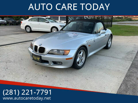 1997 BMW Z3 for sale at AUTO CARE TODAY in Spring TX