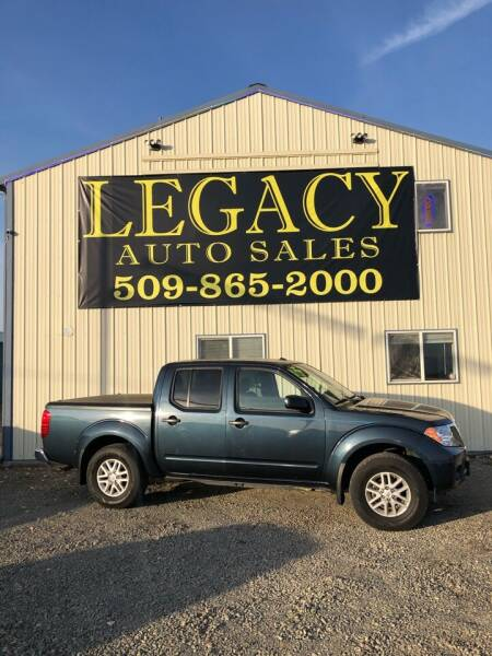 2017 Nissan Frontier for sale at Legacy Auto Sales in Toppenish WA