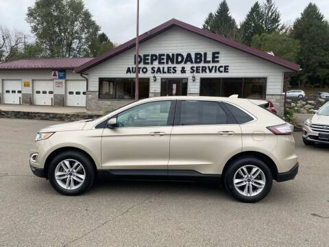 2017 Ford Edge for sale at Dependable Auto Sales and Service in Binghamton NY