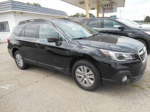 2018 Subaru Outback for sale at Unity Motors LLC in Jenison MI