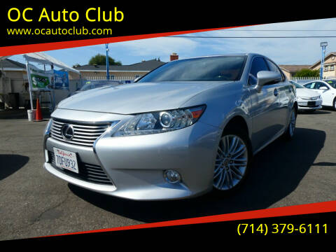2014 Lexus ES 350 for sale at OC Auto Club in Midway City CA