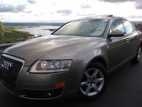 2007 Audi A6 for sale at Trini-D Auto Sales Center in San Diego CA