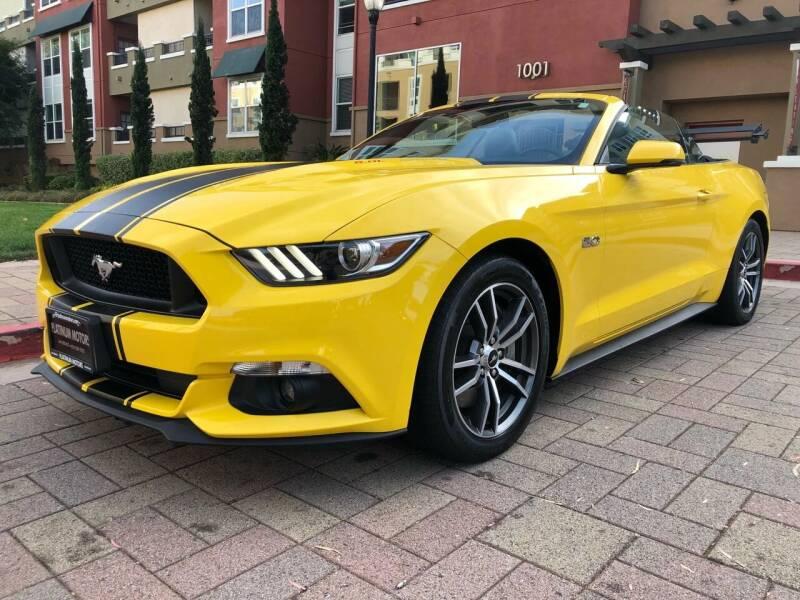 2016 Ford Mustang for sale at Platinum Motors in San Bruno CA