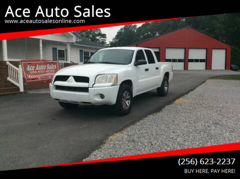 2008 Mitsubishi Raider for sale at Ace Auto Sales - $1800 DOWN PAYMENTS in Fyffe AL