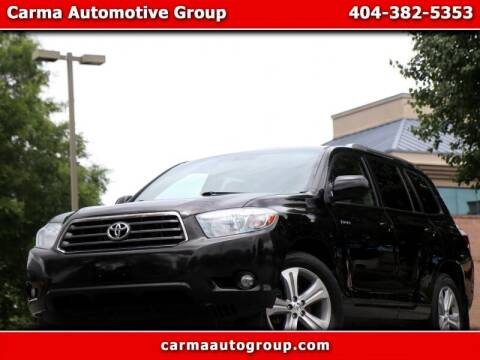 2010 Toyota Highlander for sale at Carma Auto Group in Duluth GA
