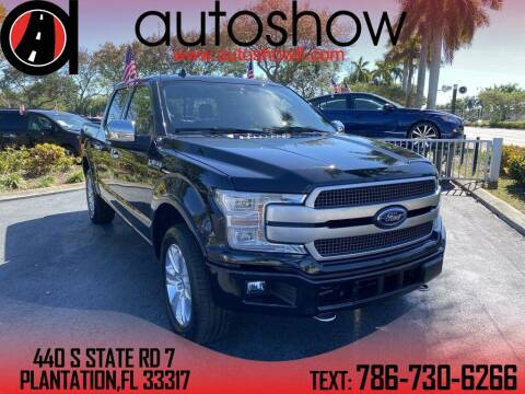 2019 Ford F-150 for sale at AUTOSHOW SALES & SERVICE in Plantation FL