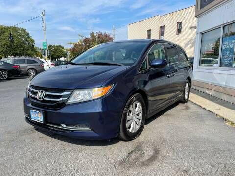 2014 Honda Odyssey for sale at ADAM AUTO AGENCY in Rensselaer NY