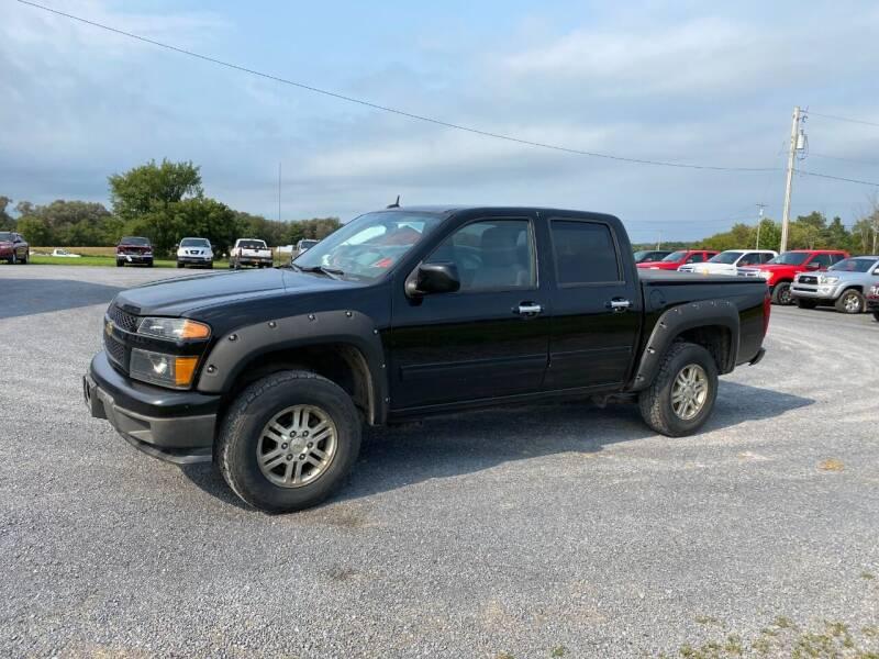 2012 Chevrolet Colorado for sale at Riverside Motors in Glenfield NY
