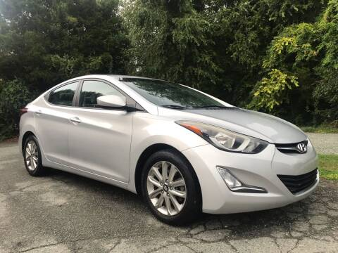2014 Hyundai Elantra for sale at Pristine AutoPlex in Burlington NC