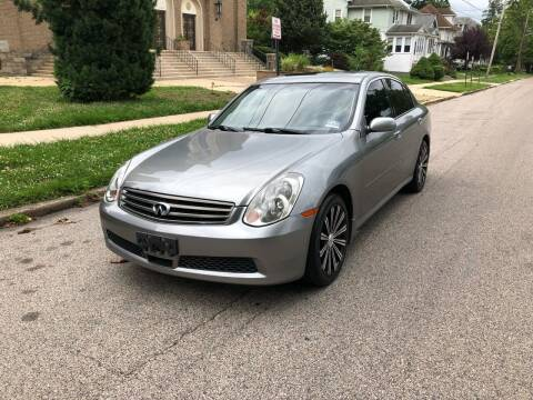 2006 Infiniti G35 for sale at Michaels Used Cars Inc. in East Lansdowne PA